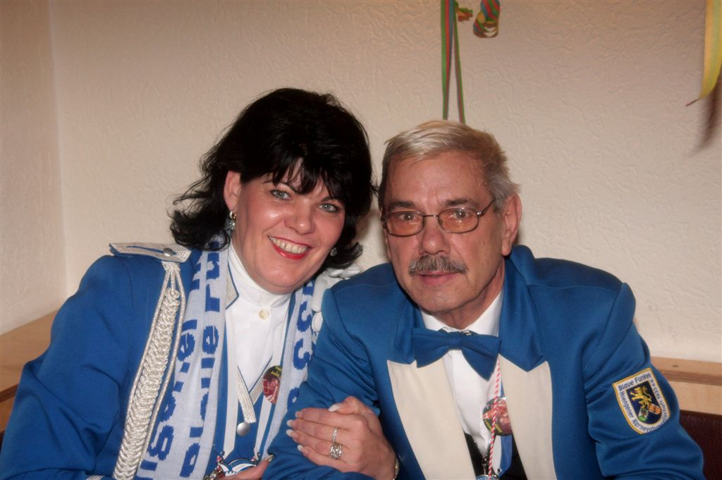 Prinzenpaar 2009: Erich & Elke Rösseler